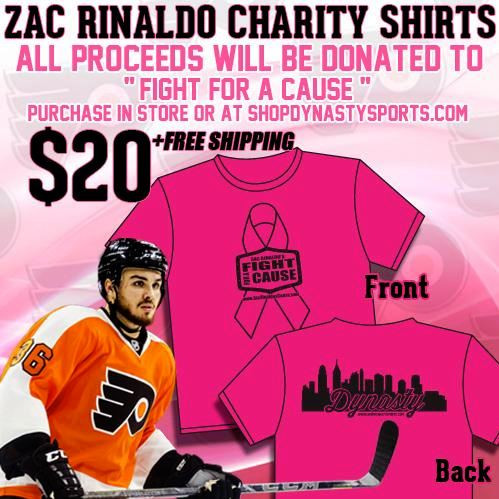 Join Zac Rinaldo and LSM in Supporting his Fight For a Cause: Breast Cancer Research!