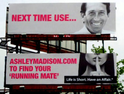 Public Political Figure Used in Ashley Madison Ad