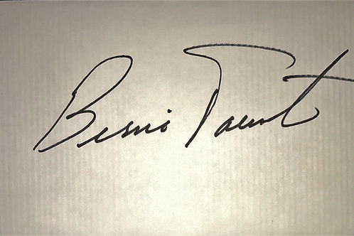 Bernie Parent Autographed Envelope with Kate Smith Stamp