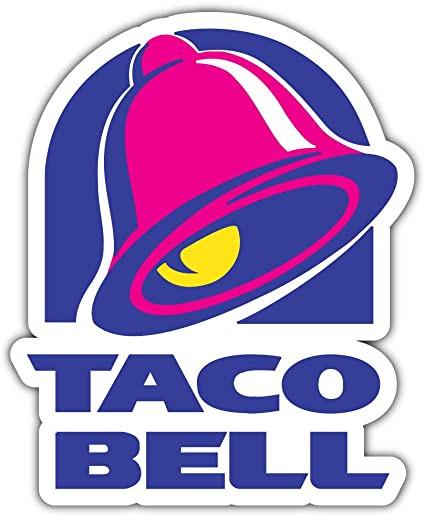 Taco Bell logo. Private investigator.