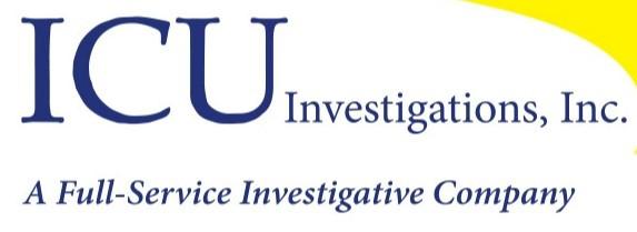 ICU Investigations logo. Private investigator near me.