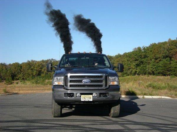 Ford truck. Private investigator.