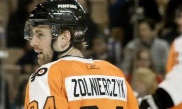Update to Players Roster: Harry Zolnierczyk