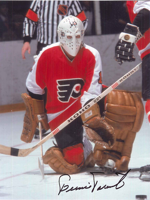 Bernie Parent Stick Down Glove Out 8x10