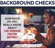 Couple at dinner. Private investigator near me. Background checks.