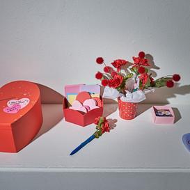 "Valentine Mailbox ""guest book"" for Sugar Coated: February 2020, Harry Wood Gallery, AZ - P.C. John Joe -  johonaaei.com"
