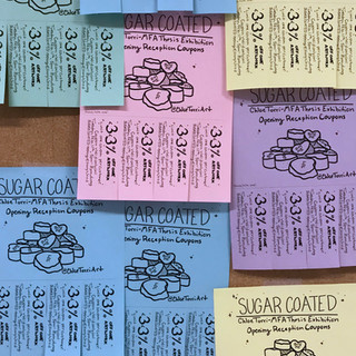 Coupon advertisements for Sugar Coated