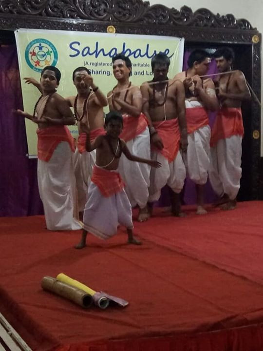 Sahabalve organised a cultural program for Arunodaya Special children at Shivanand Jnanalaya