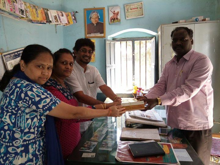 Set of Kannada grammar books written by Sri