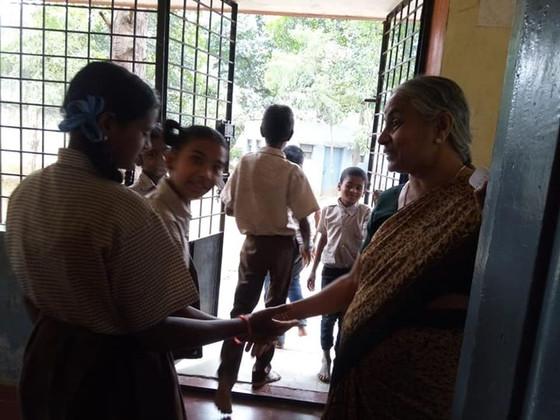 Meditation class at Jnana Yagna , Mysore