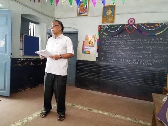Mathematics Session at Jnana Yagna, Mysore