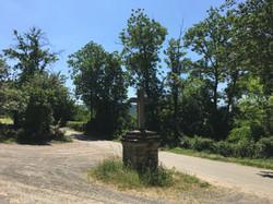 Croix du Mazet Route d'Esclanèdes