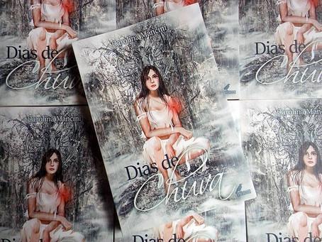 Primeiras impressões do livro Dias de Chuva da autora Carolina Mancini