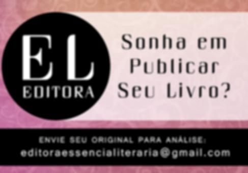 venha publicar seu livro com a Editora Essência Literária