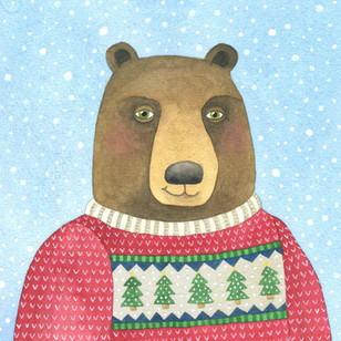 Christmas Sweater Bear