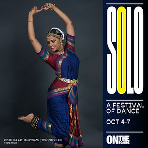 Solo: A Festival of Dance