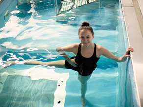 Aquatic Therapy for post surgical physical therapy