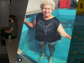 Top-rated aquatic therapy, a great solution for all levels of physical therapy.