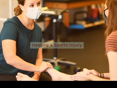 Healing your injury or sports injury with Physical Therapy.