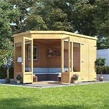 Knight Resources Garden office and Summer house builders and installers
