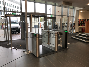 Pedestrain Barriers fitted at a College