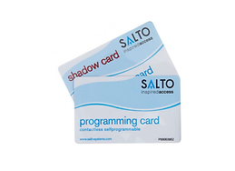 SALTO SA Programming Card & Shadow Card.