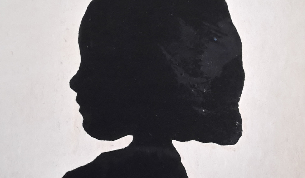 Silhouette of Jane, September 1914