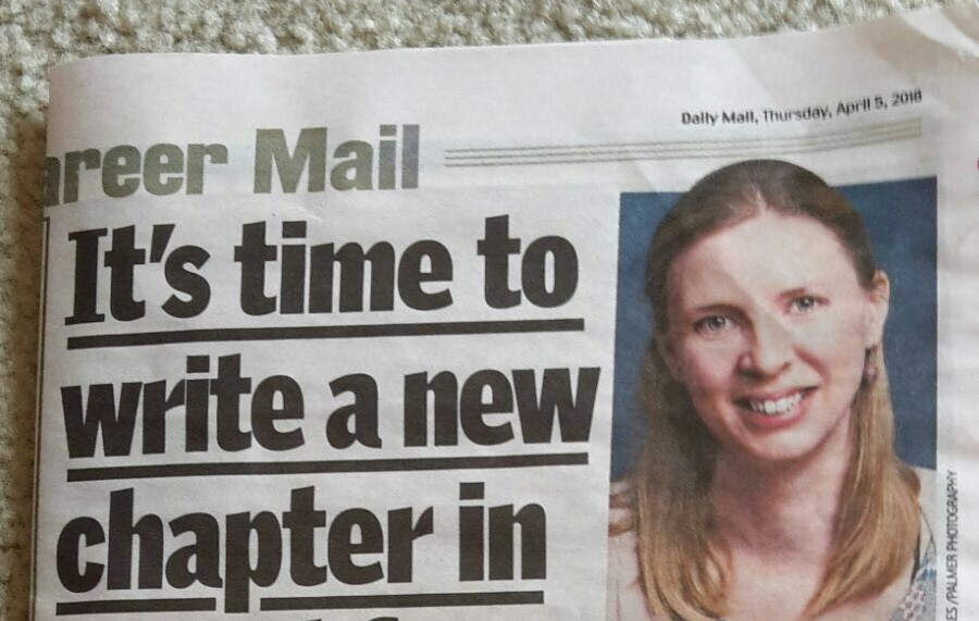 Author in the news...!