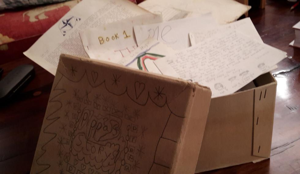 My childhood story box