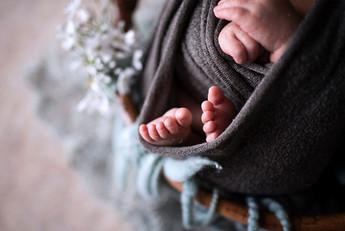 小さな手や足も撮影します