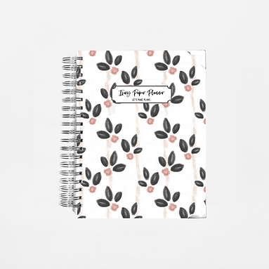 Vintage Blooms Undated Ivory Paper Co Planner