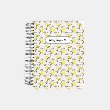 Pink Lemons | Undated Ivory Paper Co Planner