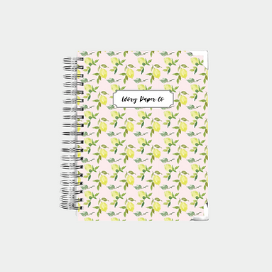 Pink Lemons | Undated Ivory Paper Co Planner
