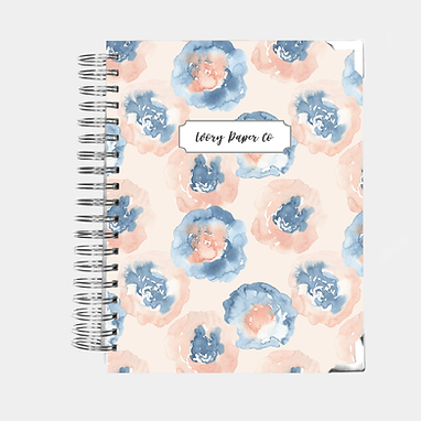Abstract Floral Watercolor | All-In-One Planner (Daily, Weekly & Monthly)
