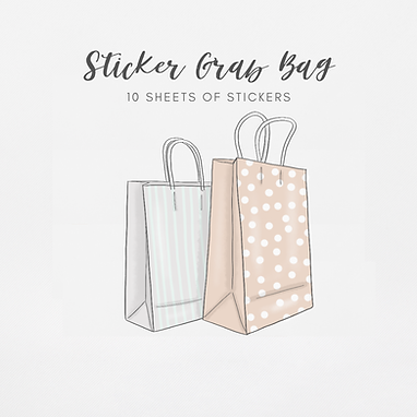 Grab Bags   10 Sticker Sheets