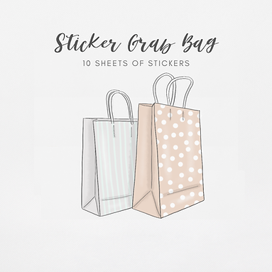 Grab Bags | 10 Sticker Sheets