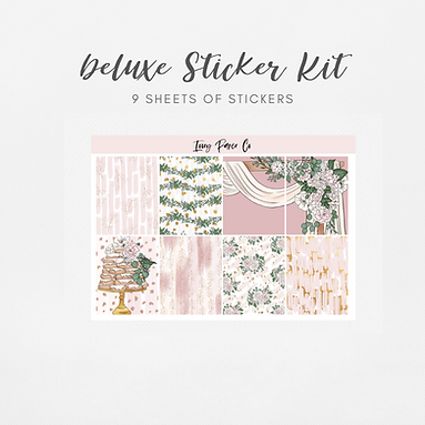 Forever   Deluxe Kit (Glossy Planner Stickers)