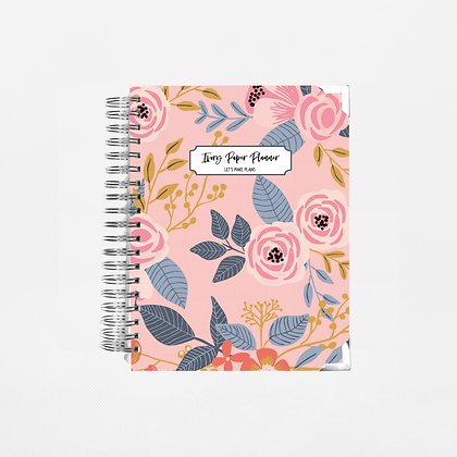 Pink Vintage | 12 Month Daily Planner