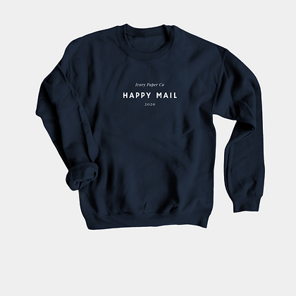 IPC Happy Mail Crewneck Sweatshirt | Navy