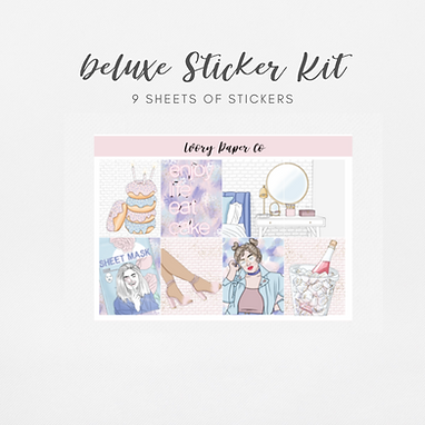Celebrate   Deluxe Kit (Glossy Planner Stickers)
