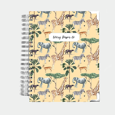 Safari | Ultimate Weekly Planner | 12 Month
