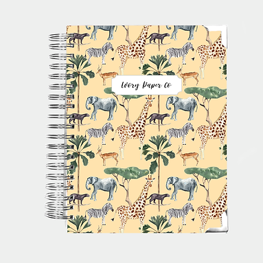 Safari Undated Ivory Paper Co Planner