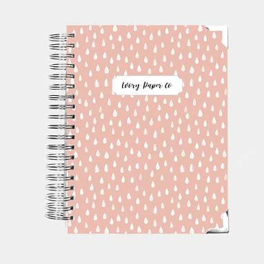 Pink Drops | 12 Month Daily Planner