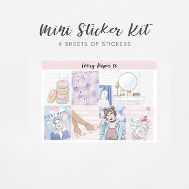 Celebrate   Mini Kit (Glossy Planner Stickers)