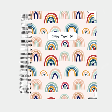 Rainbow | Vertical Weekly Planner (12 Months)