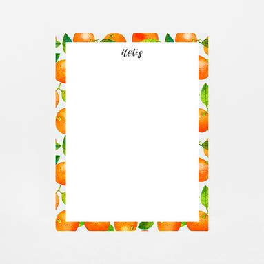 Mandarin Notepad | Customize Me