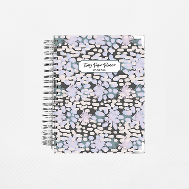 Deep Speckles Undated Ivory Paper Co Planner