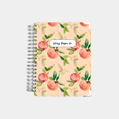 Coral Peach | Undated Ivory Paper Co Planner