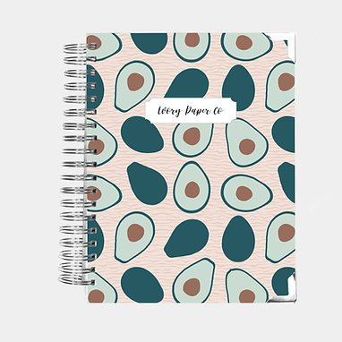 Avocado | All-In-One Planner (Daily, Weekly & Monthly)