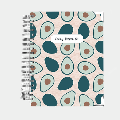 Avocado | Vertical Weekly Planner (12 Months)